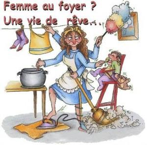 La faf n 39 est pas contente femme au foyer et alors for Femme au foyer 1960