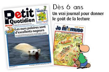 Le petit quotidien un journal pour les enfants femin 39 elles - Magazine le journal de la maison ...