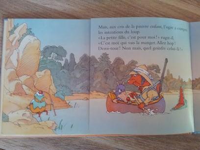 Livre pour enfant] Logre, le loup, la petite fille et le gâteau ...