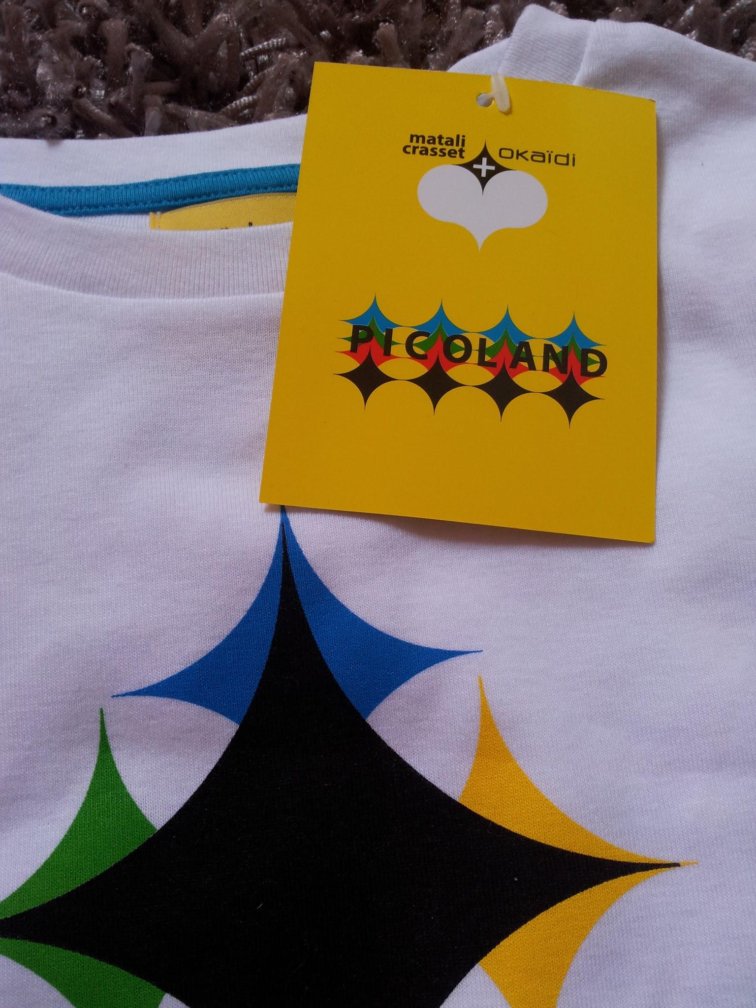 90b433ff30202 La marque de vêtements pour enfants Okaïdi s'est associée à Matali Crasset,  célèbre créatrice d'objets design, pour créer Picoland une collection en  édition ...