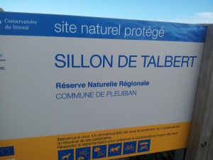 Site naturel Sillon de Talbert