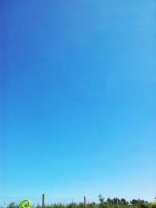 Ciel bleu Bretagne