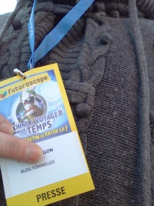 Badge Presse Futuroscope