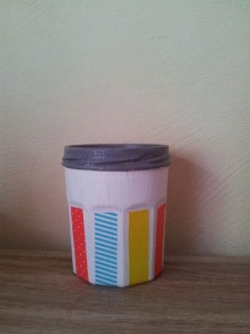 Pot à crayons Masking Tape