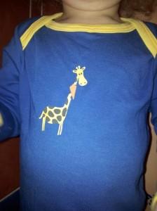 Bavoir Funky Giraffe
