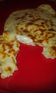 Cheese Naans Indiens