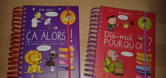 A Noël dernier Roloulou a reçu deux livres que je trouve vraiment très bien, on y apprend plein de choses car ils sont remplis d'infos très intéressantes sur la nature, […]