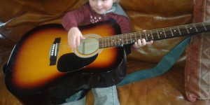 Le boubou guitariste