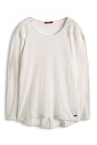 t shirt blanc esprit